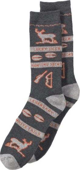 Men's Lucky Deer Hunting Socks at Legendary Whitetails