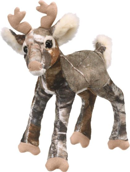 Camo Wild Whitetail Plush Deer at Legendary Whitetails