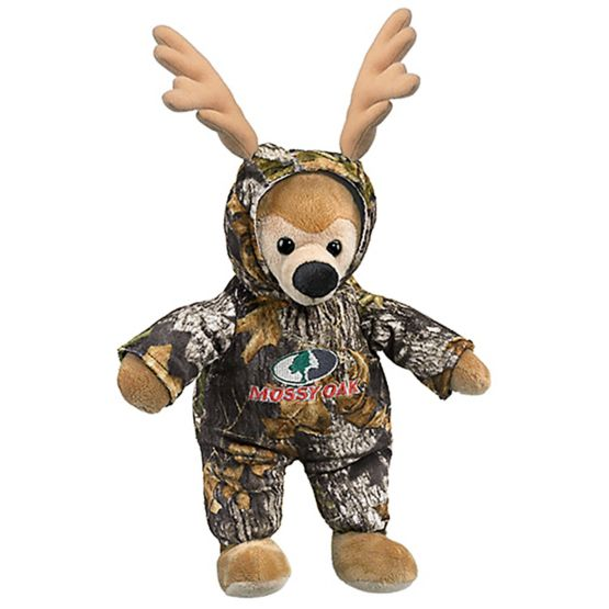 Kid's Mossy Oak Camo'd Up Deer Stuffed Animal at Legendary Whitetails