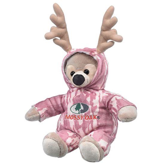 Kid's Mossy Oak Pink Camo'd Up Deer Stuffed Animal at Legendary Whitetails