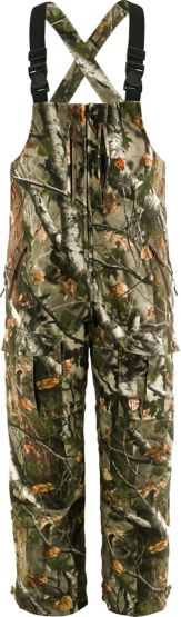 HuntGuard® Reflextec Big Game Camo Hunting Bibs at Legendary Whitetails