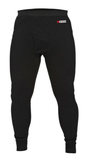 Men's X-System Lightweight Black Base Layer Pant at Legendary Whitetails