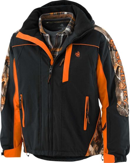 Men's Glacier Ridge Pro Series Winter Jacket at Legendary Whitetails