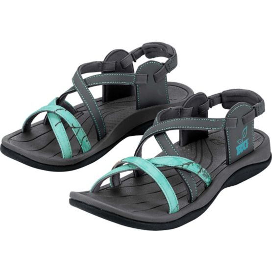 Ladies Realtree Camo Tess Sandals at Legendary Whitetails