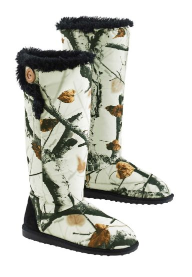 Women's  Muk Luks Camo Boots at Legendary Whitetails