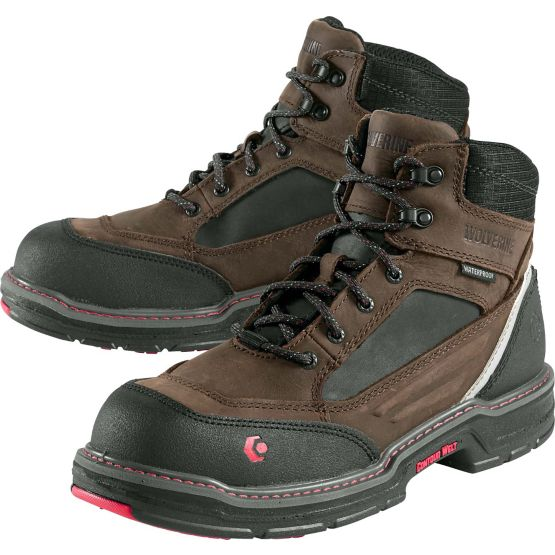 """Mens Wolverine® Overman Composite Toe 6"""" Work Boot at Legendary Whitetails"""
