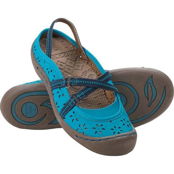 Ladies Wildflower Slip On Muk Luks Trail Shoes at Legendary Whitetails