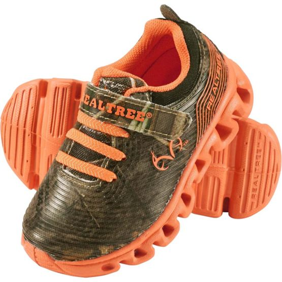 Infant & Toddler Camo Lil Firefly Light-Up Shoes at Legendary Whitetails