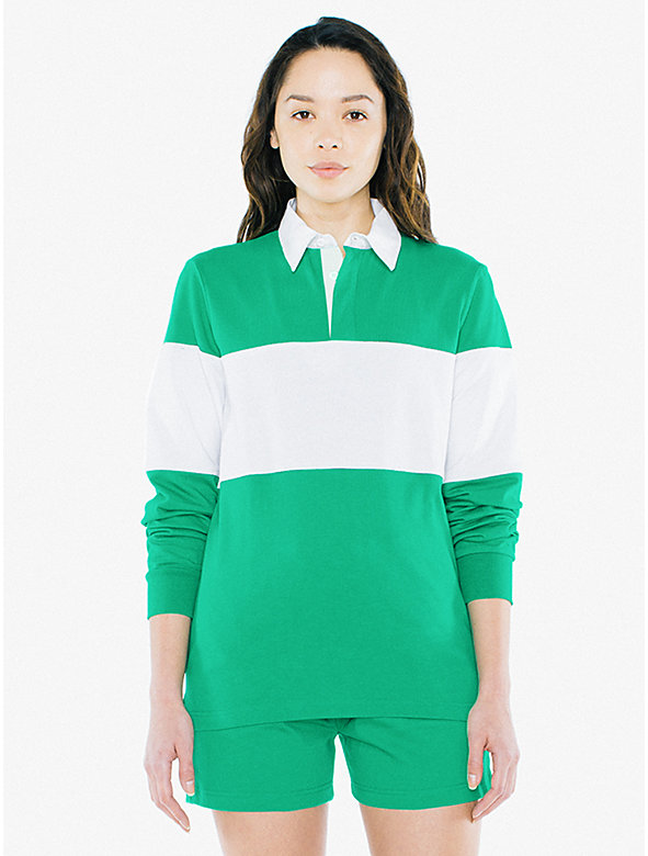 Unisex Thick Knit Rugby Team Shirt