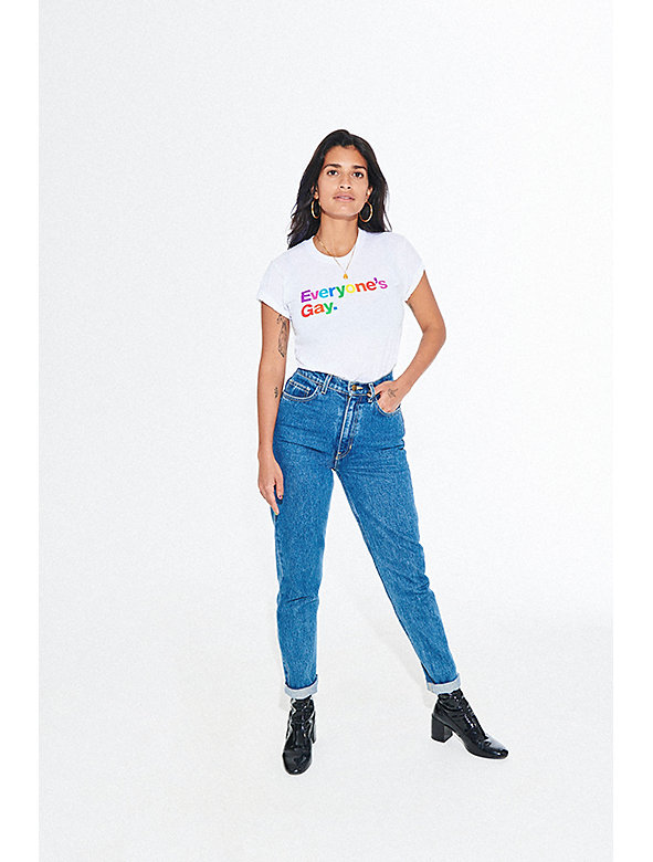 Everyone's Gay Printed Fine Jersey T-Shirt