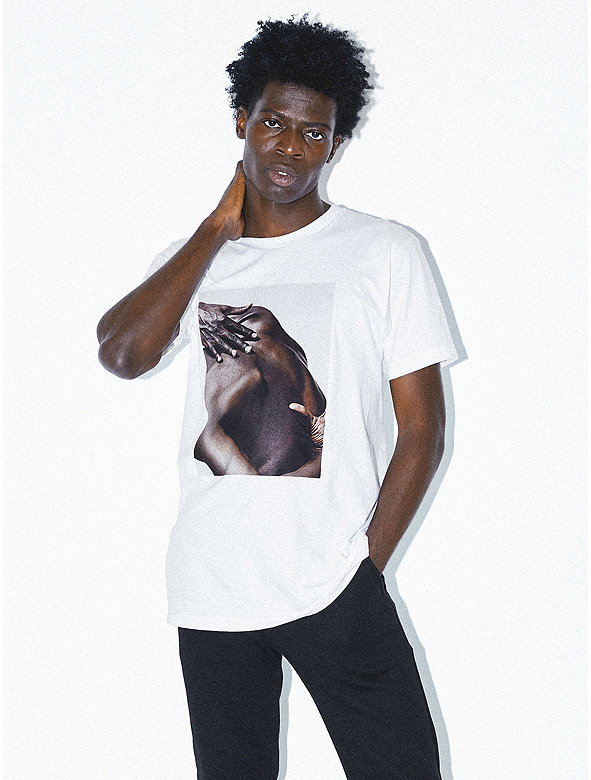 Printed Fine Jersey T-Shirt
