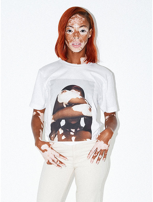 Unisex Printed Fine Jersey T-Shirt