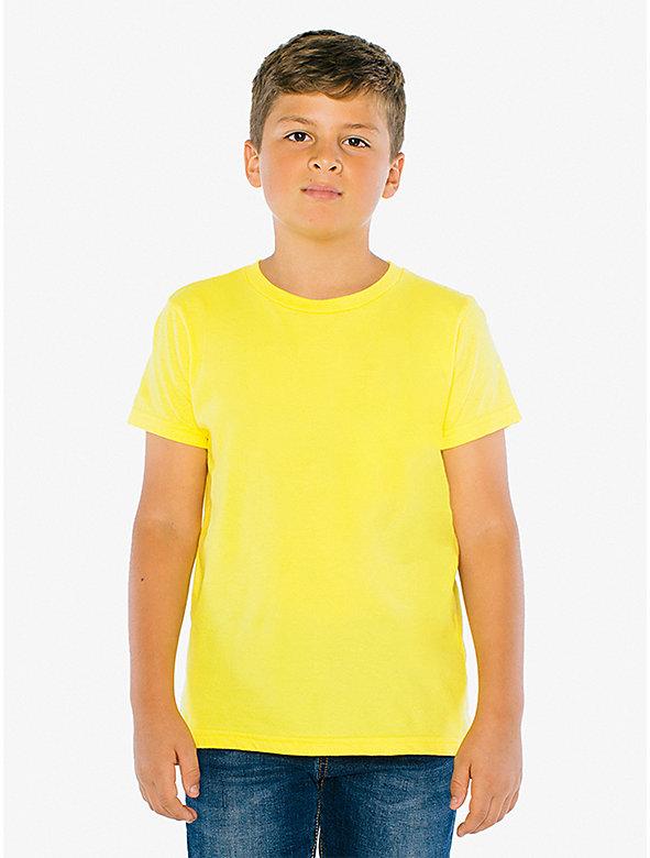 Youth Fine Jersey Crewneck T-Shirt