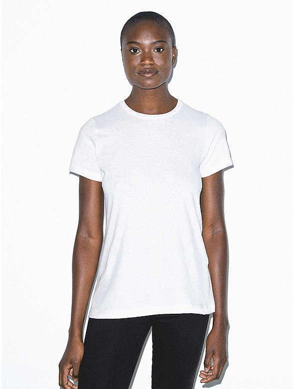 Organic Fine Jersey Classic Crewneck T-Shirt