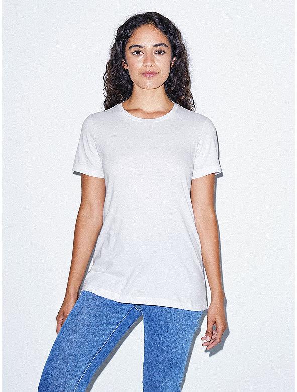 Fine Jersey Classic Crewneck T-Shirt