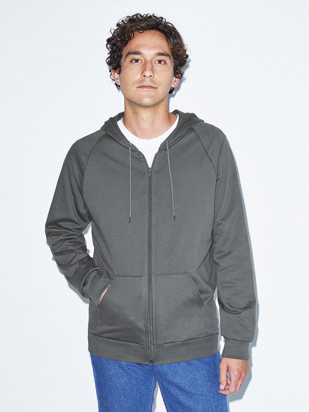 American Apparel California Fleece Zip Hoodie (various colors)