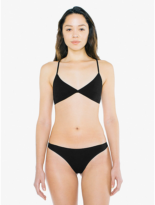 Cotton Spandex Jersey Invisi-Thong