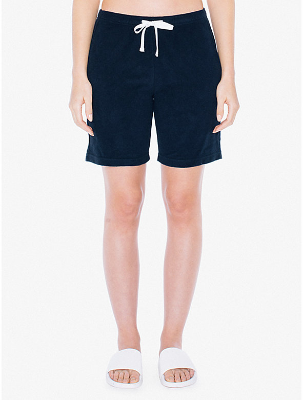 Unisex Loop Terry Lounge Short