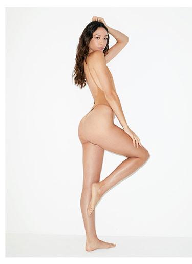 Nude 5 Cotton Spandex Deep Cut