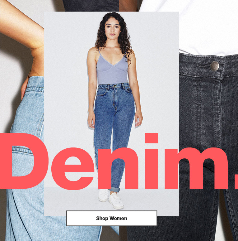Denim. Women