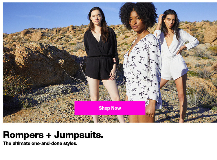 Rompers + Jumpsuits. Women