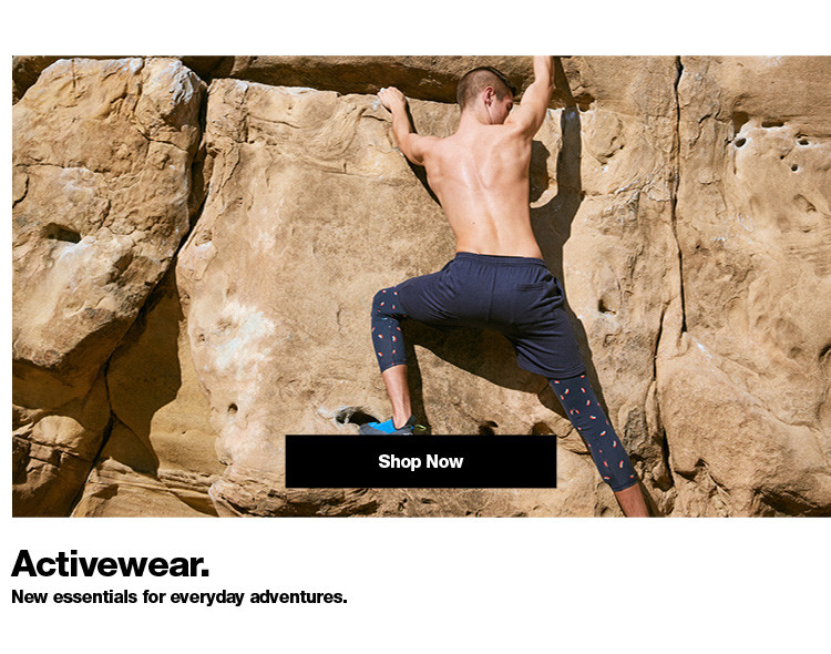 Activewear. Men