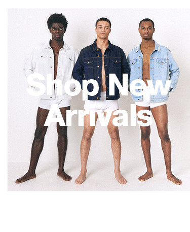 Shop Men New Arrivals CTA