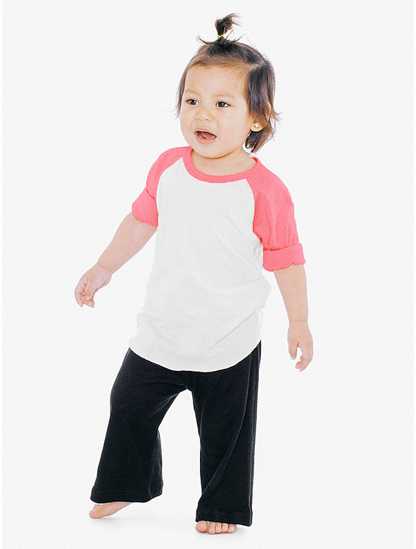 3c3e7965d Infant 3/4 Sleeve Raglan | American Apparel