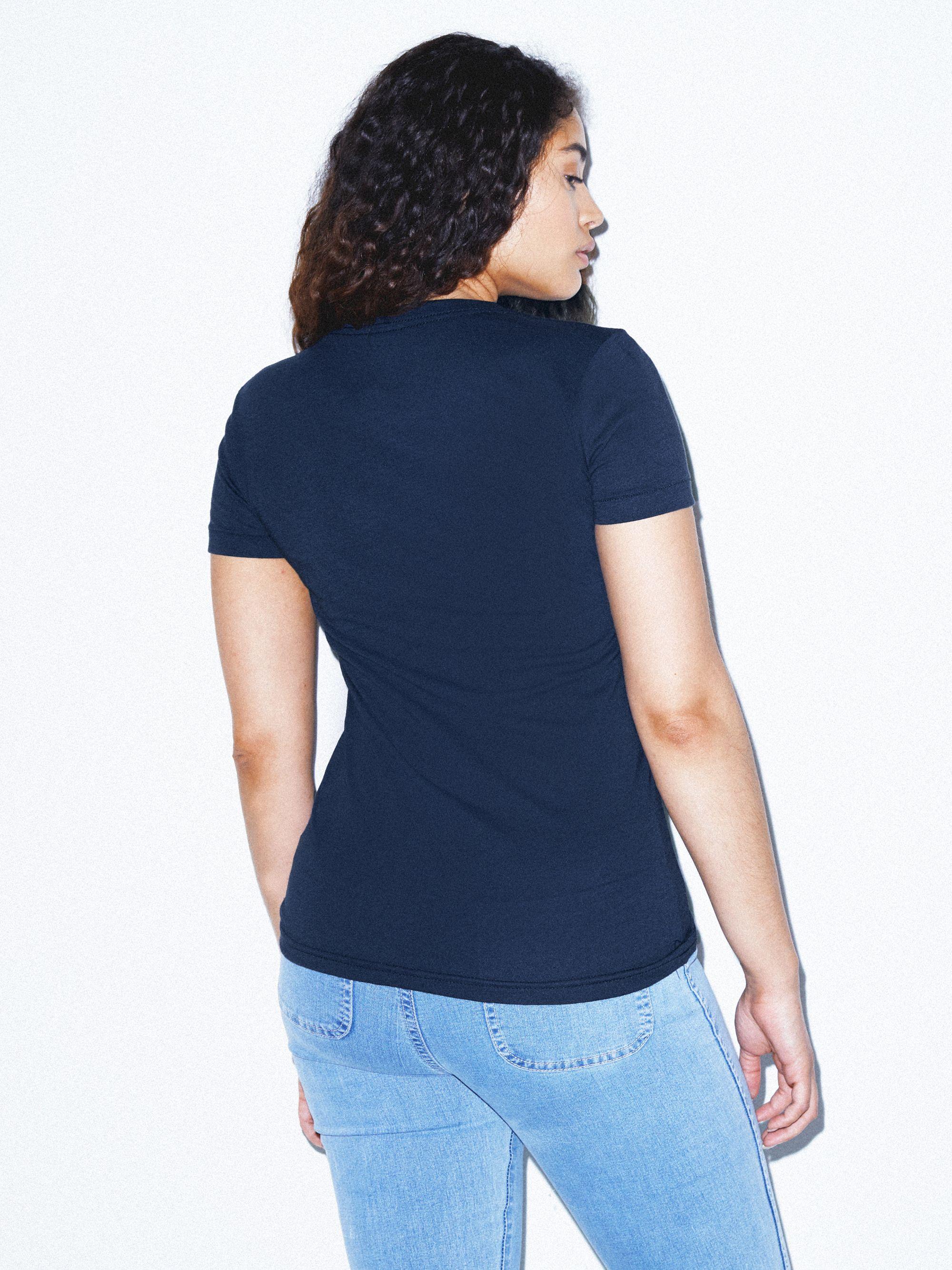 e79cb2a805bd38 50/50 Classic Crewneck T-Shirt   American Apparel