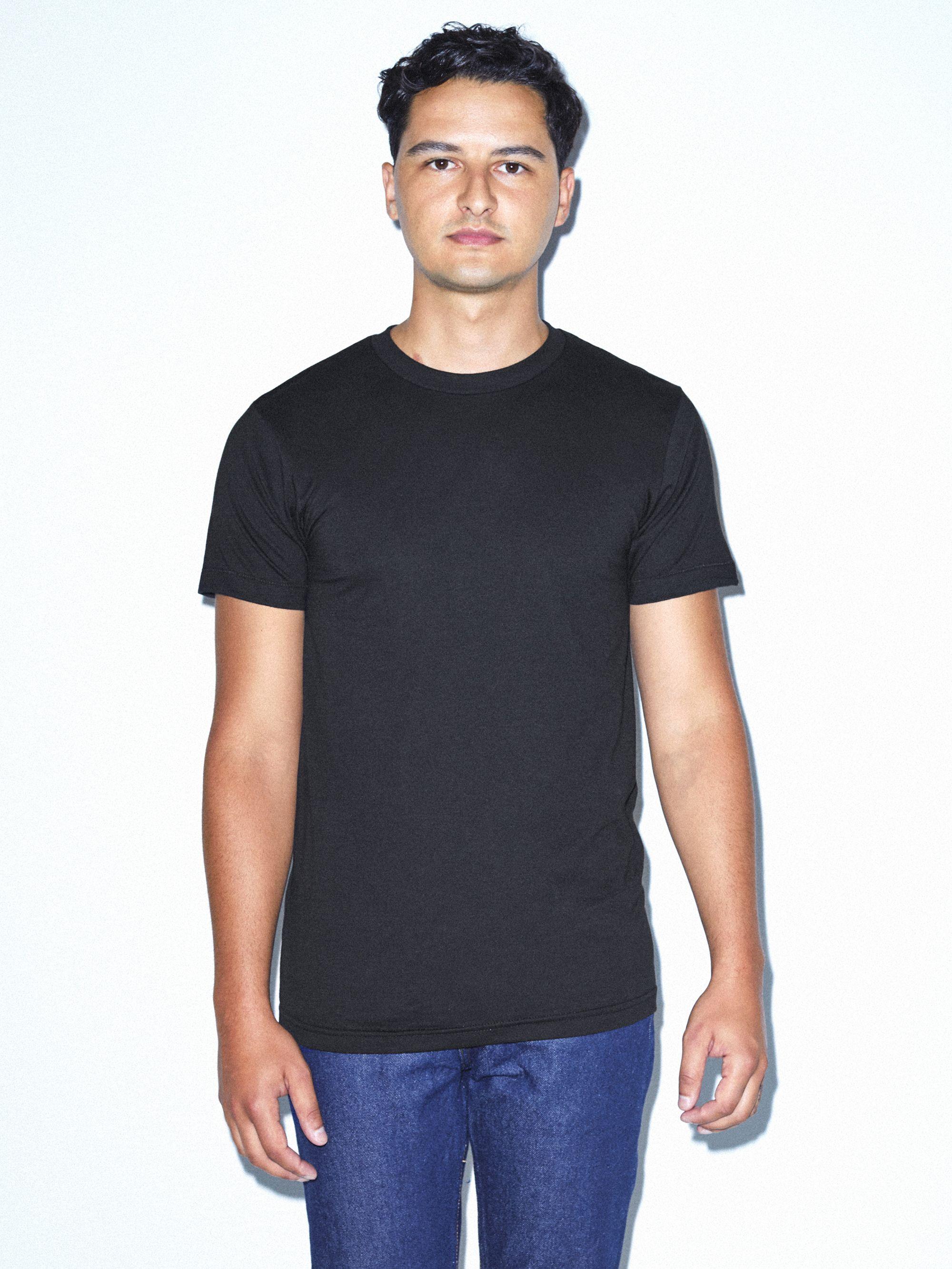 aaeee66e2 50/50 Crewneck T-Shirt | American Apparel