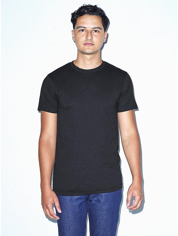 21ae31f11dc 50/50 Crewneck T-Shirt | American Apparel