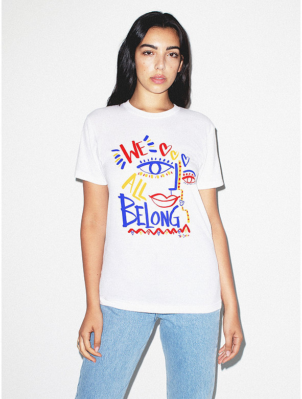 Unisex We All Belong Tee