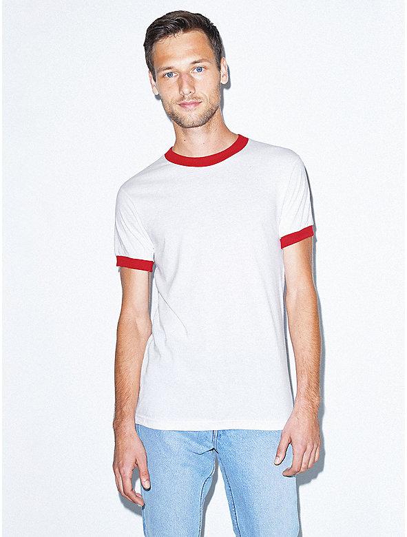 1686e511013d 50 50 Crewneck Ringer T-Shirt