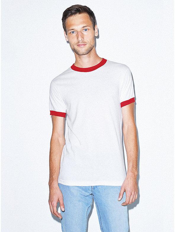 b20fdd9b0045 50 50 Crewneck Ringer T-Shirt