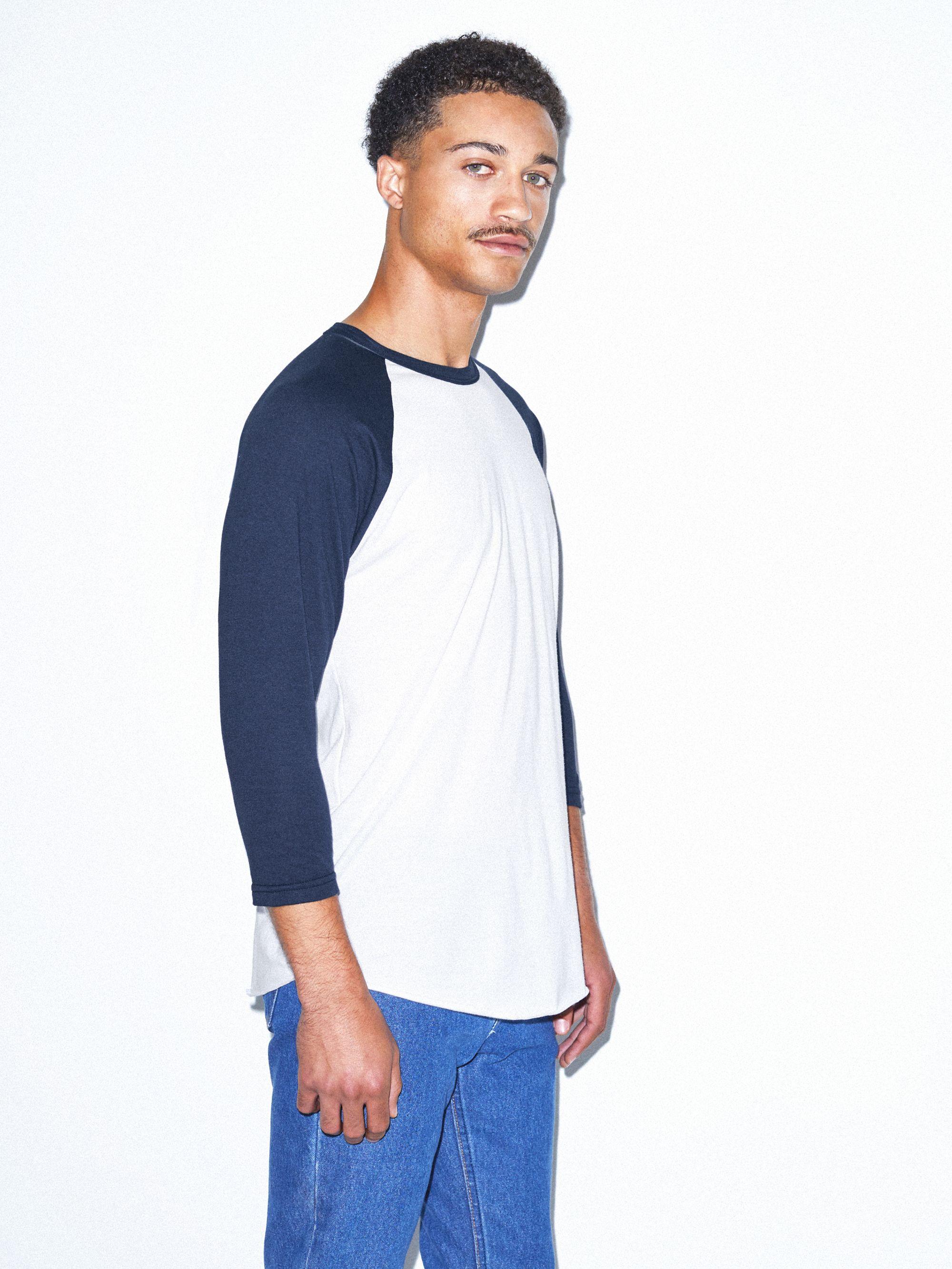 dd9d5d4b96a Unisex 50 50 Raglan 3 4 Sleeve T-Shirt