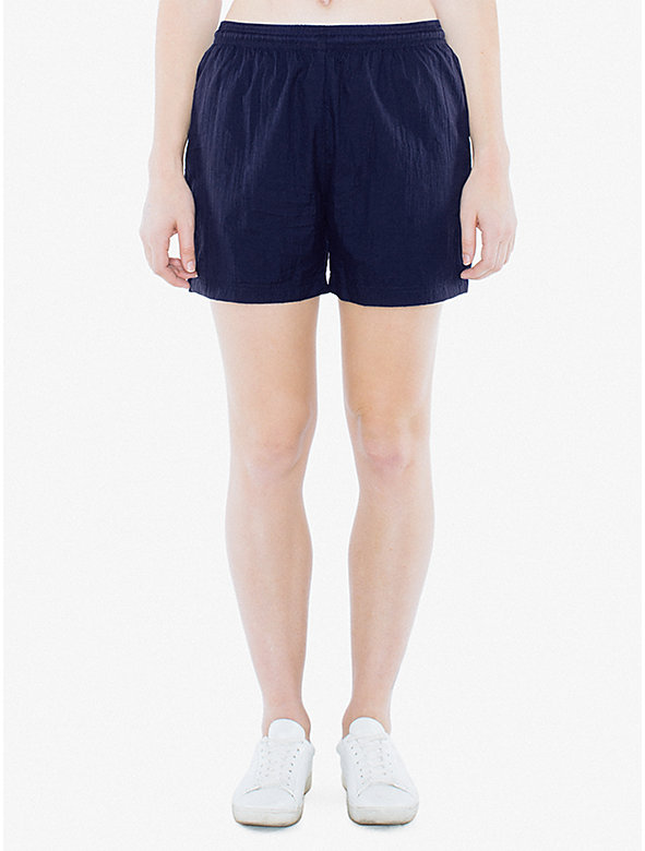Unisex Crinkle Nylon Team Short