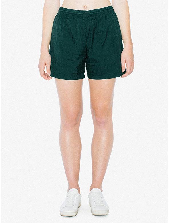 Unisex Crinkle Nylon Team Short
