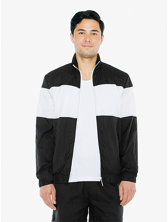 Crinkle Nylon Team Jacket