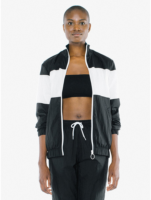 Unisex Crinkle Nylon Team Jacket