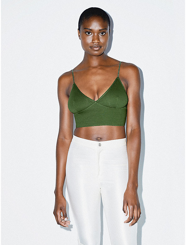 Cotton 2x2 Sofia Bralette