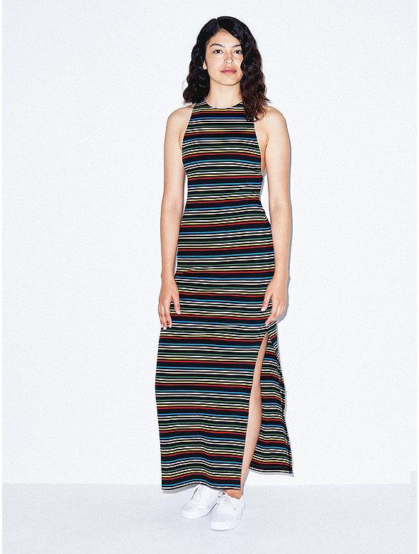 Cotton 2x2 Racerback Dress