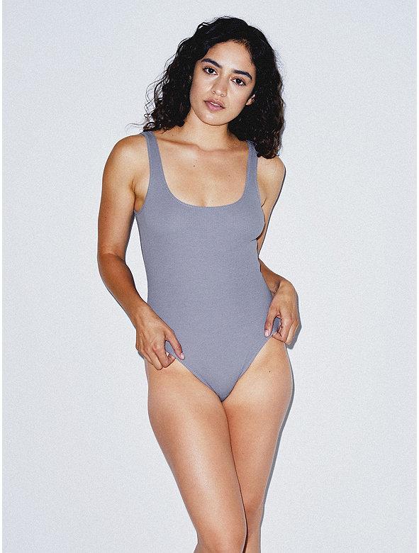 Cotton 2x2 Tank Bodysuit