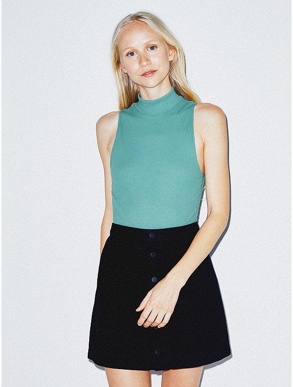 Cotton 2x2 Turtleneck Bodysuit
