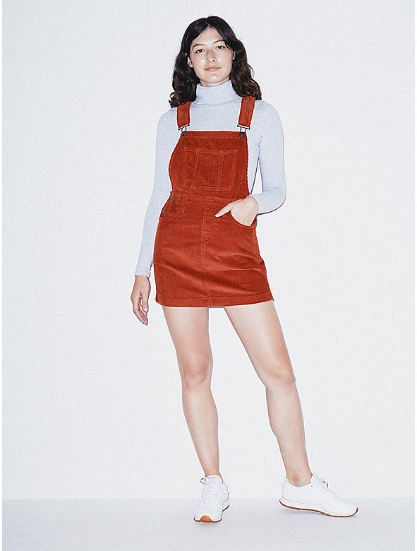 Corduroy Skirt Overall