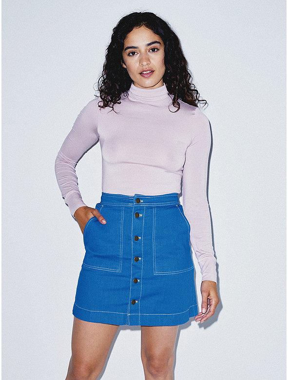 The Denim Pocket Skirt