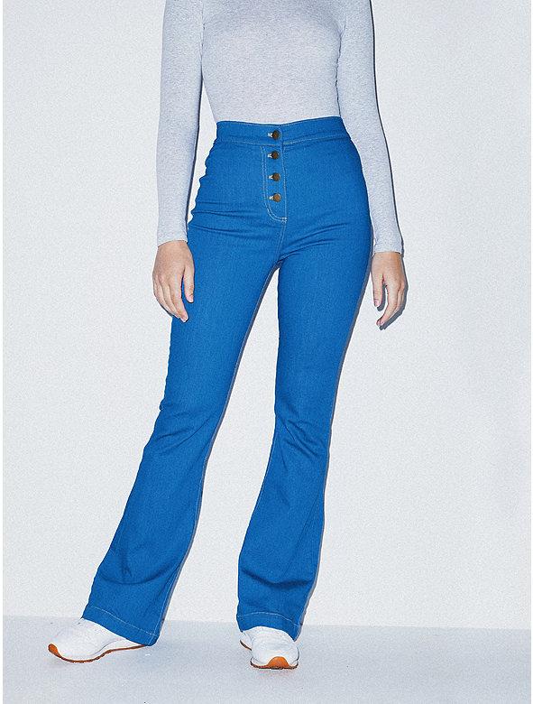 The Button Flare Jean