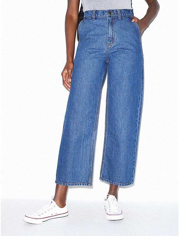 Crop Wide Leg Jean