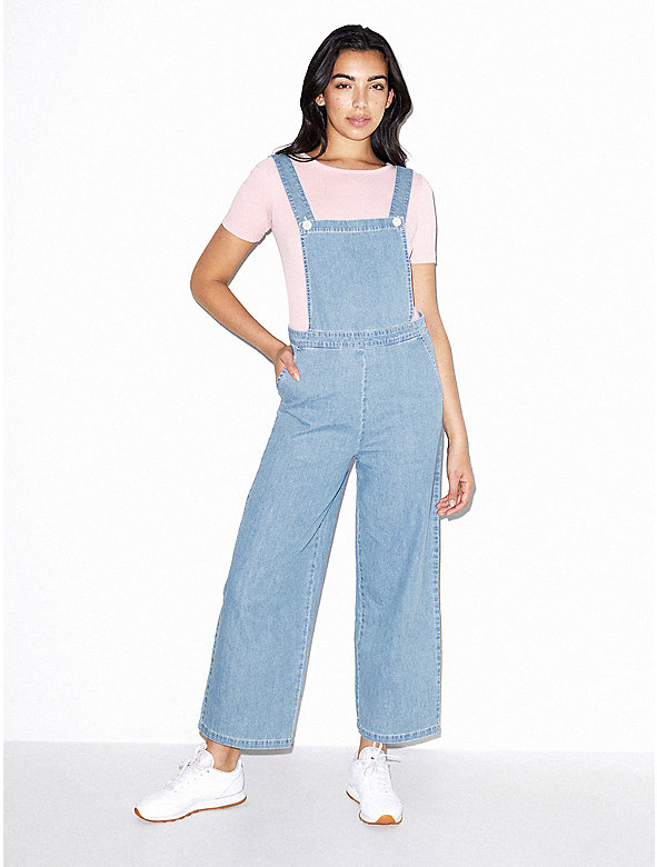 Denim Pinafore Jumpsuit