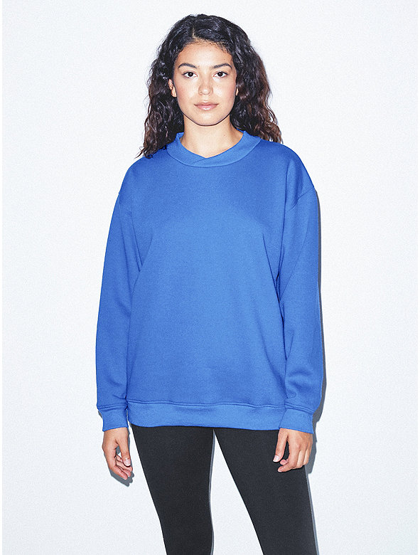 Unisex Flex Fleece Crossneck Pullover