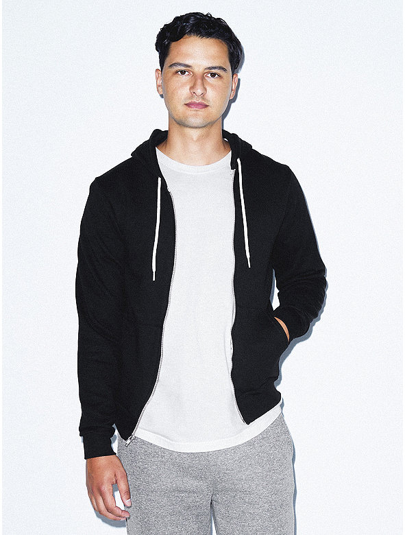 83b221eb6 Flex Fleece Zip Hoodie | American Apparel